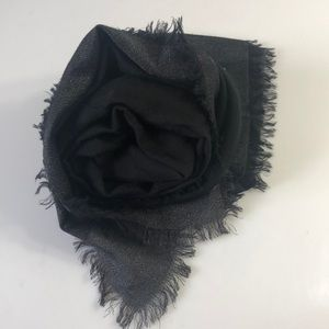Marc Jacobs Wool Cashmere Black Scarf